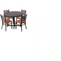 assorted tables and chairs